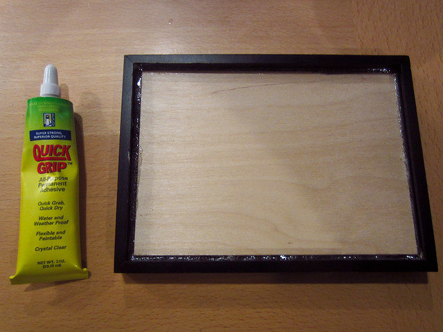 Glue & 5x7 frame