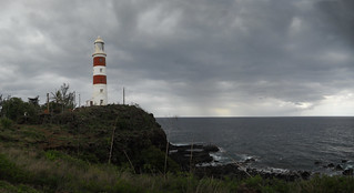 Pointe aux Caves Lighthouse Panorama