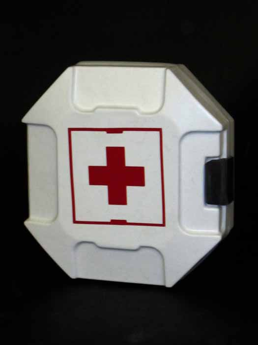 HALO First Aid Kit display