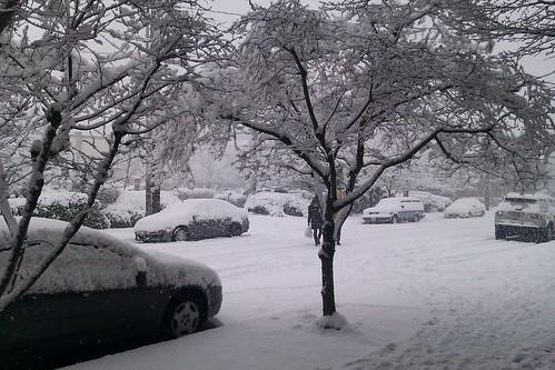 Current snow