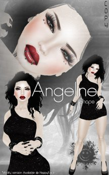 :: Happy.Face :: Angeline Shape(Gift) PROMO!!, 10 lindens by Cherokeeh Asteria