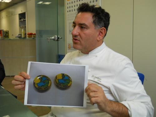 Salvatore De Riso il bottone di cioccolato foto di Vincenzo Califano