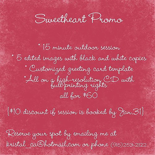 Sweetheart-Promo