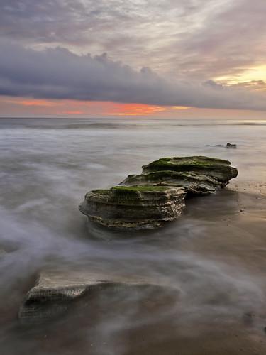 ocean sunset storm beach pacific dsc1221cx