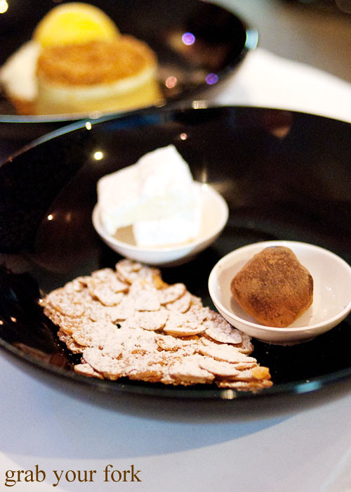 petit fours florentine marshmallow truffle macleay st bistro potts point