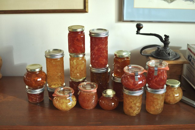 just part of my recent marmalade project