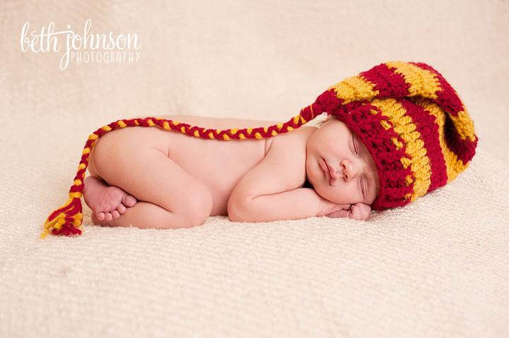 tallahassee studio newborn photographer