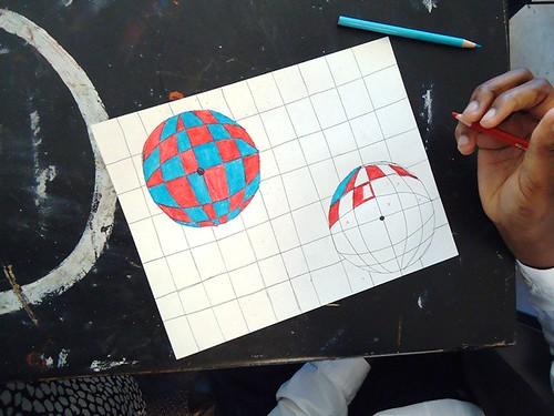 Op Art Line Design Lesson : Lesson plan op art spheres the easy way artful artsy amy