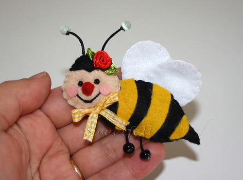 ♥♥♥  Bzzzzzzzz ... by sweetfelt \ ideias em feltro