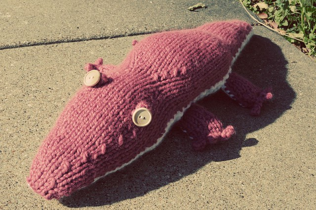 pink gator