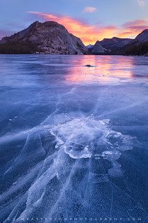 Emerging - Tenaya Lake, Yosemite National Park, California