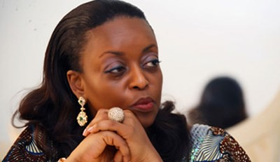 Nigeria Minister of Petroleum Resources Diezani Allison-Madueke. The oil-producing state has been hit by a general strike and mass protest since January 9, 2012. by Pan-African News Wire File Photos