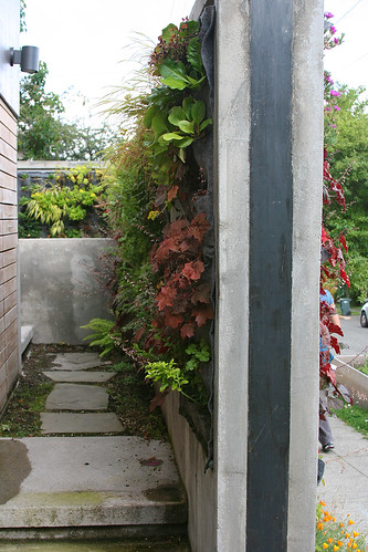 double sided vertical garden