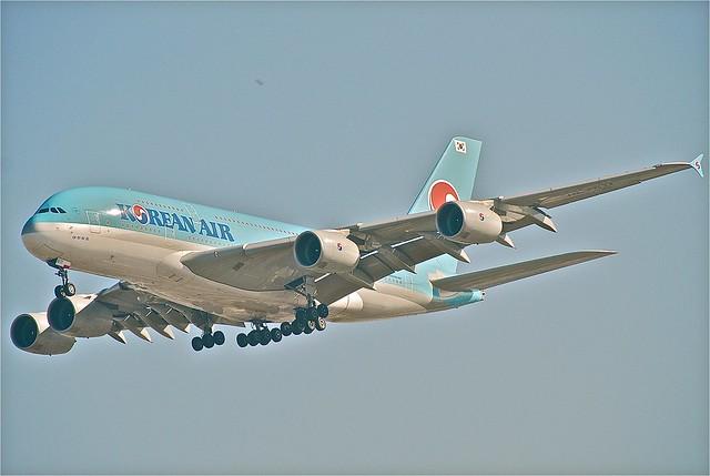 Korean Air Airbus A380-861; HL7611@LAX;11.10.2011/623bn