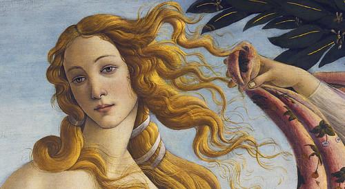 Botticelli - detail Venus by petrus.agricola