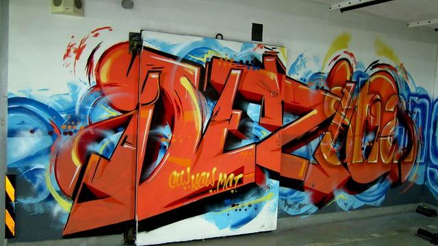 graffiti | dezio | shanghai . radisson blu pudong