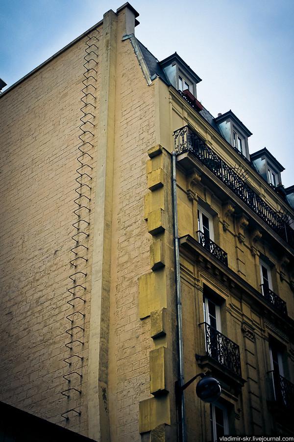 Fire staircase, Paris