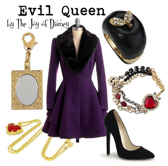 Inspired by: Evil Queen from Snow White