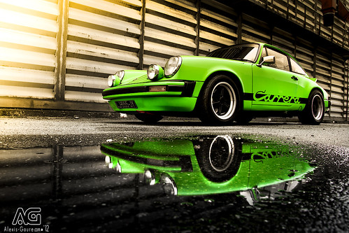 Porsche 2L7 Carrera - Reflection