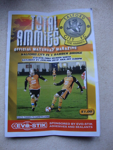 Salford City Programme