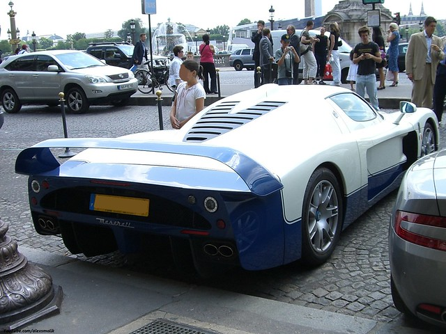 Good old Maserati MC12 One of 50 in the world Pretty rare and exclusive