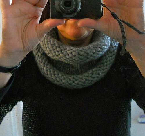 Gebreide col 2 / Knitted cowl / snood 2 by evanstra