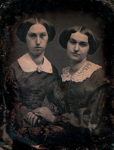 Dear Sisters, 1/9-Plate Daguerreotype, Circa 1857 by lisby1