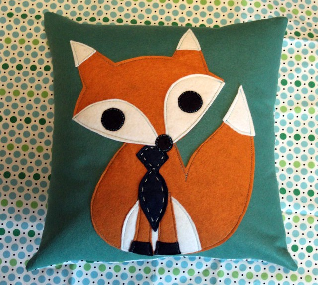 Mr Fox Pillow