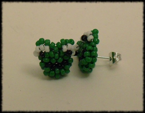 Beading Daily Earrings Every Day Challenge: Day 26c