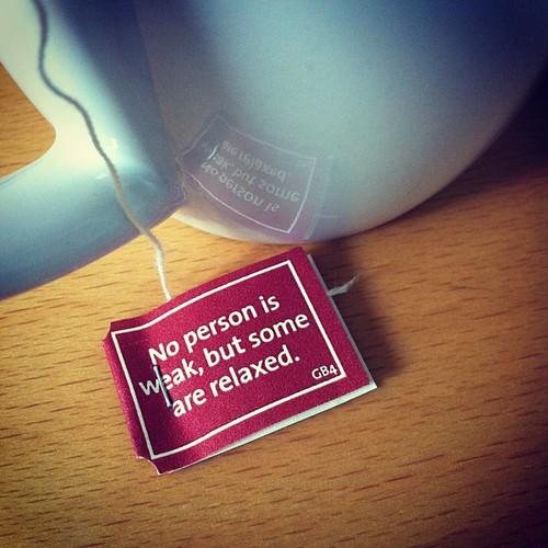 Tee-Weisheit