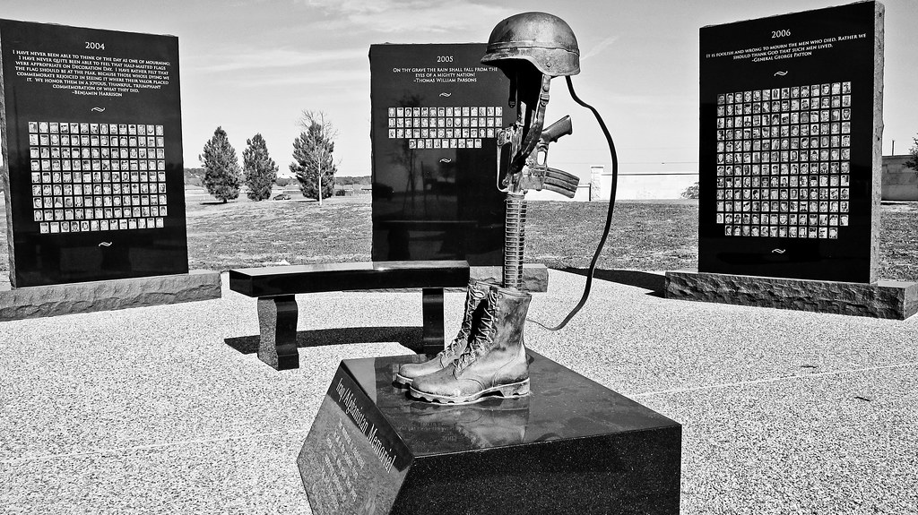OIF memorial, Killeen TX