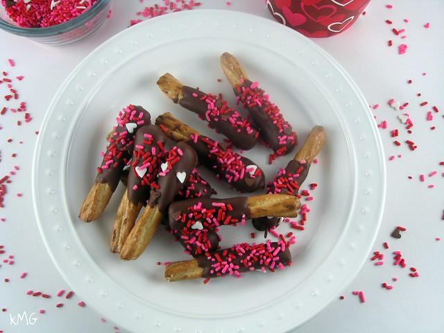 Chocolate PB pretzels 2