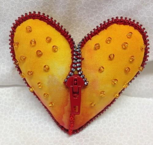 Stuffed heart #5