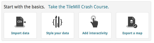 Crash course for TileMill