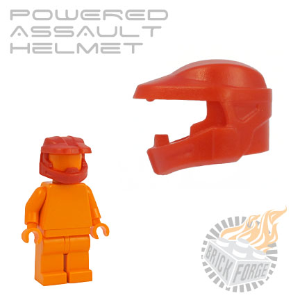 Powered Assault Helmet - Red