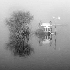 Lairg House in Fog 27th Jan 2012