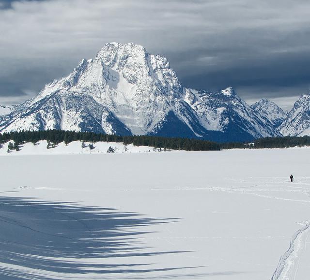Ice fishing on jackson lake flickr photo sharing for Jackson lake fishing