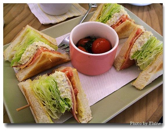 好吃的三明治