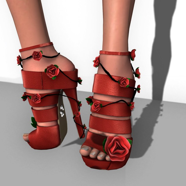 New Purrfect 10 Wild Rose Stilettos