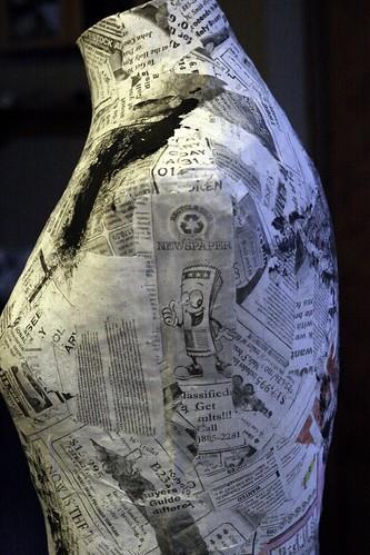 Paper Mache Mannequin