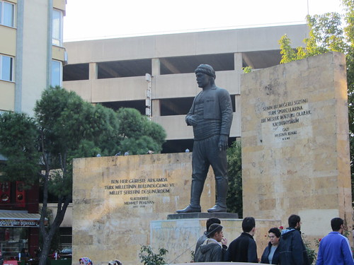 Balikesir: Kurtdereli statue (2)