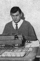 "Murray Street 120 Paul Vincent, former editor of ""The Bunyip"", ca.1960"