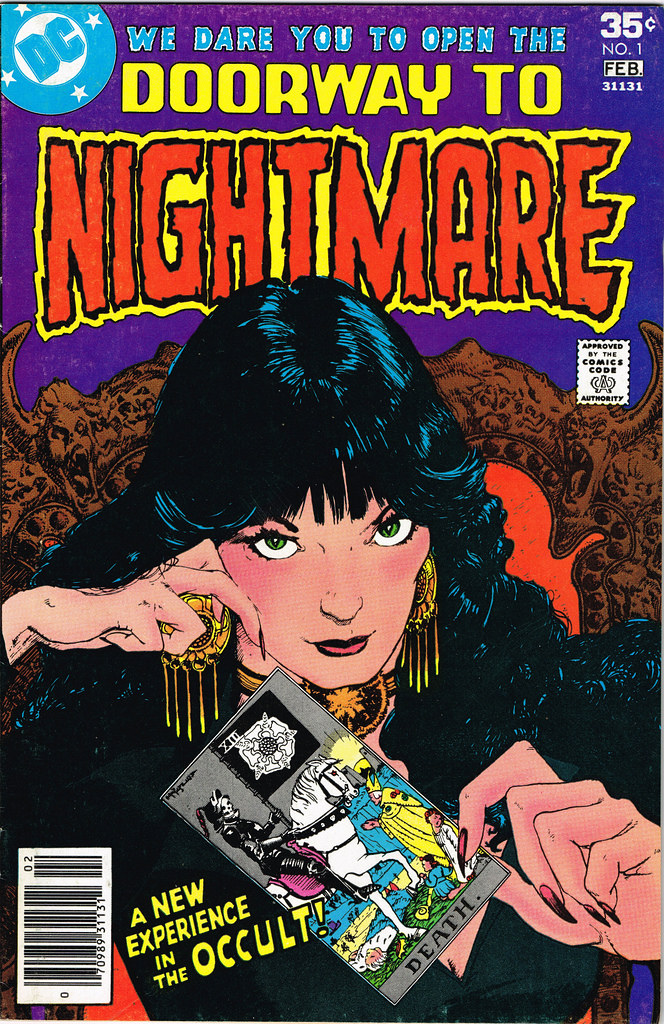 Doorway to Nightmare 1 cover by Michael Kaluta