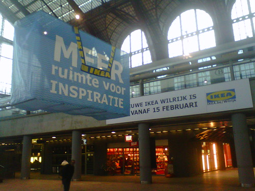 guerrilla marketing for Ikea