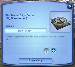 The Binder Clips Center (Big Show Venue)