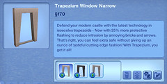 Trapezium Window Narrow