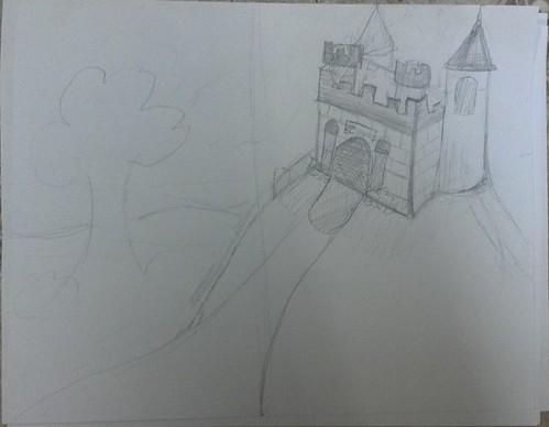 Katie's first Castle Sketch