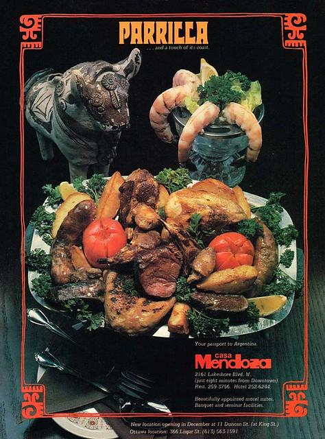 Vintage Ad #1,824: Parilla at Casa Mendoza