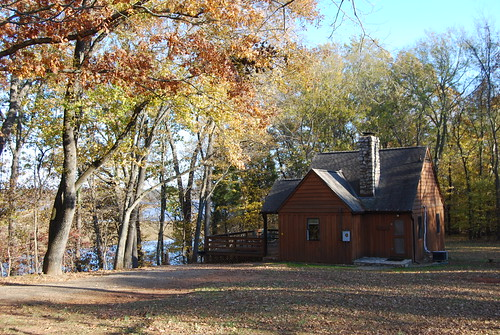 Cabin 1 at Staunton River State Park