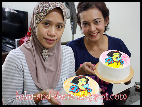 Drawing on Buttercream Class ~ 22 Jan 2012